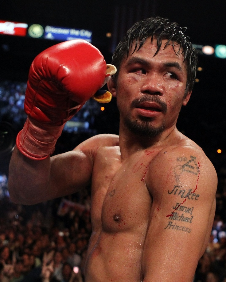 Who doesnt love Manny Pacquiao