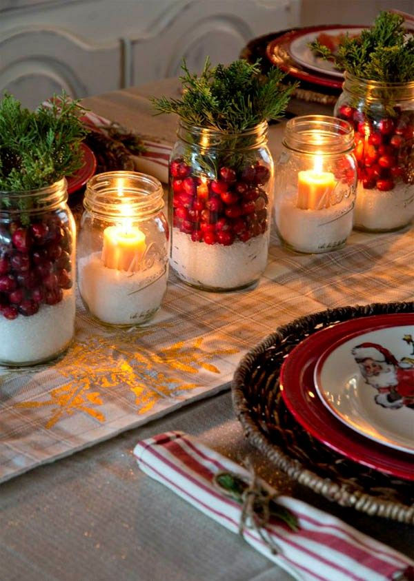 Coolest Ideas For Masonjar Christmas Decoration Holidays