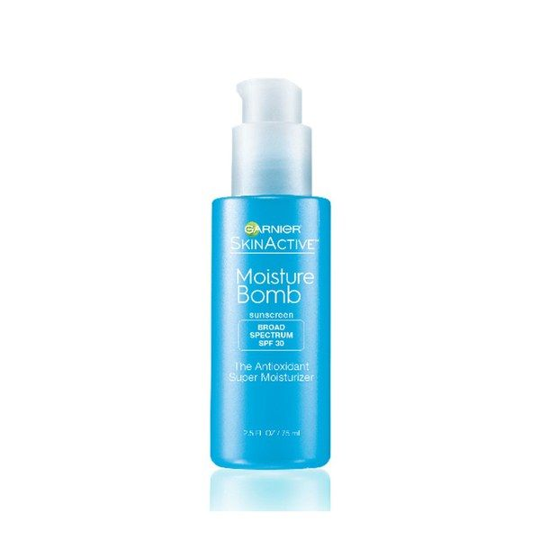 This lightweight moisturizer has many reasons for us to love it. For one, it's filled with skin-loving ingredients such as vitamins C and E, pomegranate, and hyaluronic acid, which create a protective hydration barrier on the skin. But its instant results are what really have us sold. The lotion leaves skin with a dewy finish, which makes it an ideal base for makeup. $14.99 (target.com).