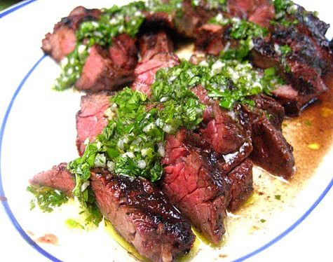 "If you are not yet acquainted with hanger steak, get to know it.   It used to be known as the ""butcher's filet"" because the butcher used t..."