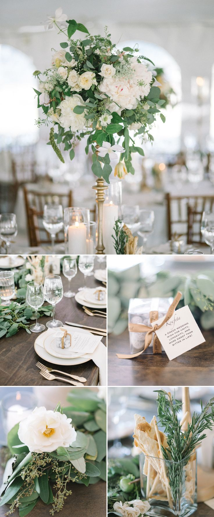 Location Scout – Rocky Mountain High | Hearts Aflutter by Flutter Magazine Soft neutrals, summer, tall centerpiece. White and ivory. Peonies, clematis. Flower stands. Colorado wedding.