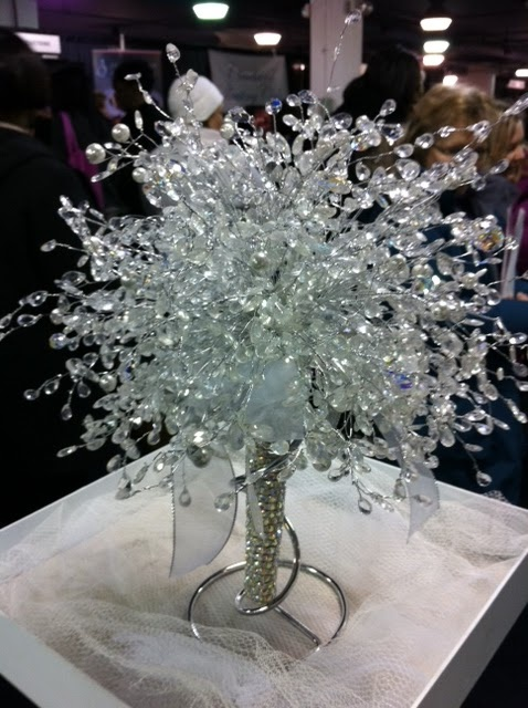 Crystal bouquets. Small size $50.00 Events by Michel, LLC