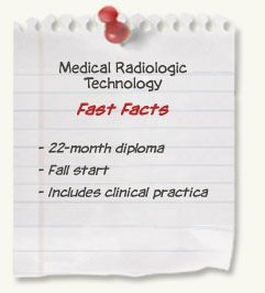 Medical Radiologic Technology diploma at SAIT - Fast Facts: Two year diploma; Fall start; includes clinical practica;  Tuition & Fees: $7,600 (year 1); $6,500 (year 2) Employment Rate: 100% Salary Median/$Annual:	$65,000 Books & Supplies: $2,500 (year 1); $700 (year 2) Certification Exam Fee: $800 Mandatory annual dues to the Alberta College of Medical Diagnostic and Therapeutic Technologists are approximately $130.