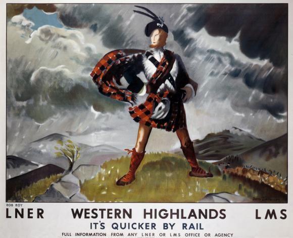 LNER - Western Highlands - LMS - It's Quicker by Rail..