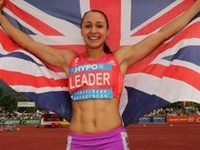 Jessica Ennis breaks the British Heptathlon record!