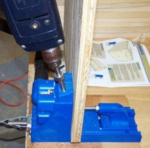 With the Kreg pocket hole jig, your free wood working plan is easy.