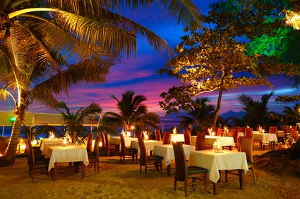 Table for two on the beach please ♥ Luxury Beachfront Condo in Phuket