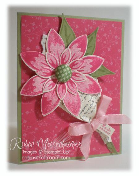Stampin' Up! Blossom Petals Punch  by Robin Messenhemer at robinscraftroom