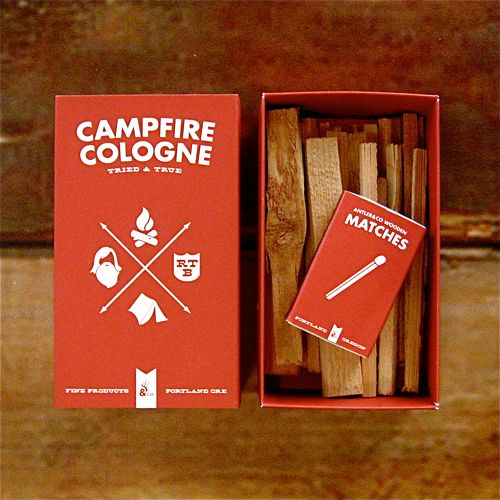 Campfire CologneCamps Brand, Company Picnics, Summer Picnics, Smells Of Campfires, Packaging Design, Camps Design, Campfires Starters, Campfires Cologne, Vintage Style