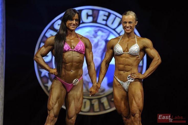 Kateřina Kyptová a Elena Shportun