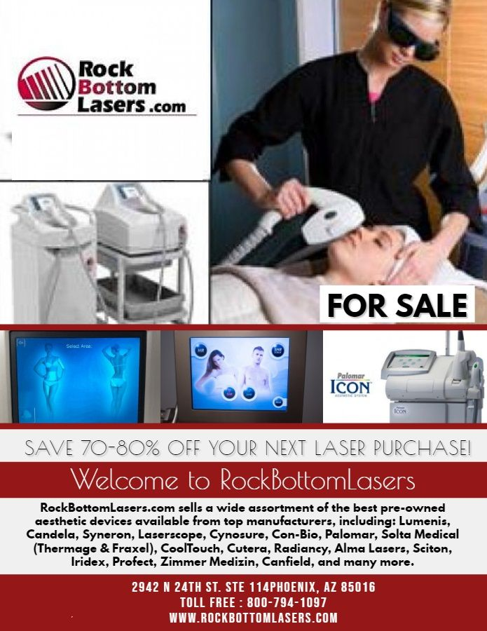 Rockbottomlasers Is The Top Seller Of The Best Pre Owned Aesthetic Devices Available From Top Manufacturers Call Us On Our Toll Fr Laser Skin Laser Thermage