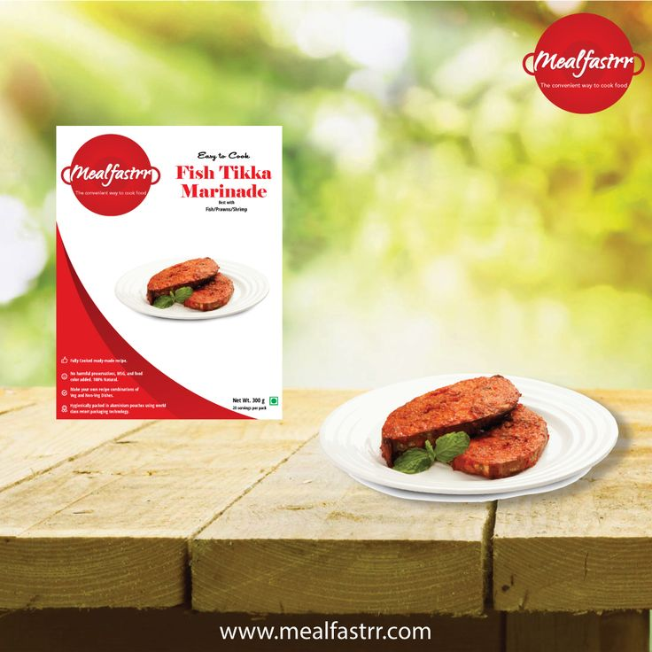 Enjoy the exotic flavor of our FISH TIKKA MARINADE this weekend..... Shop now @ http://www.mealfastrr.com/fish-tikka-marinate