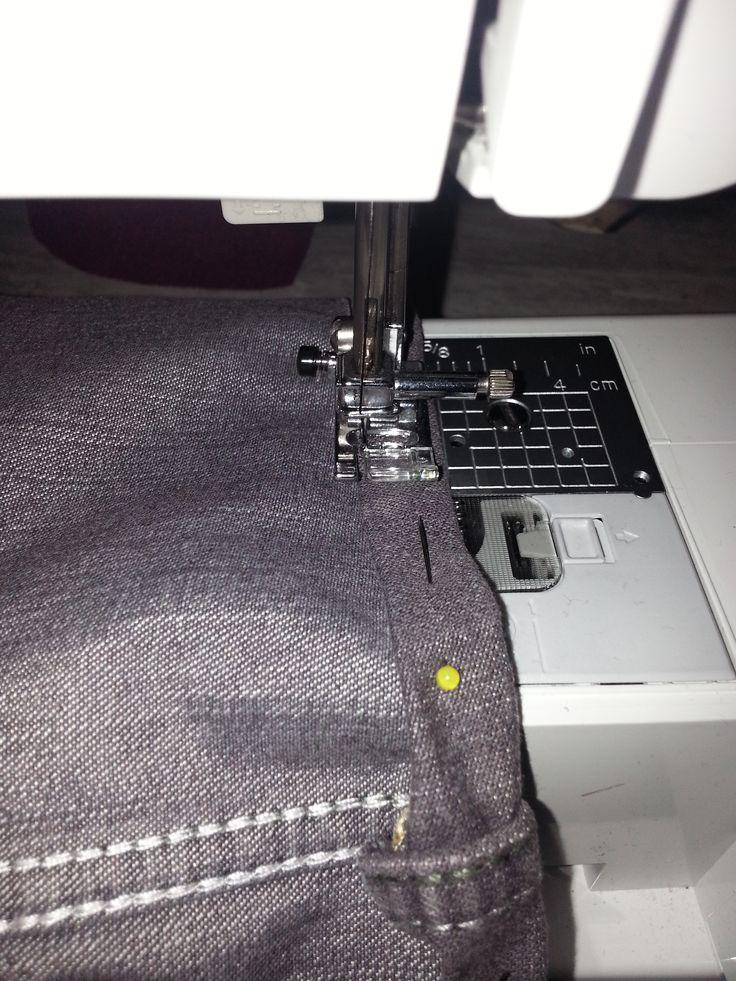 17 meilleures id es propos de ourlet pantalon sur pinterest ourlet jeans ourlet et jeans. Black Bedroom Furniture Sets. Home Design Ideas