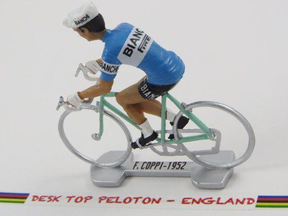Fausto Coppi Tour De France  Bianchi 1952  Tour by DeskTopPeloton