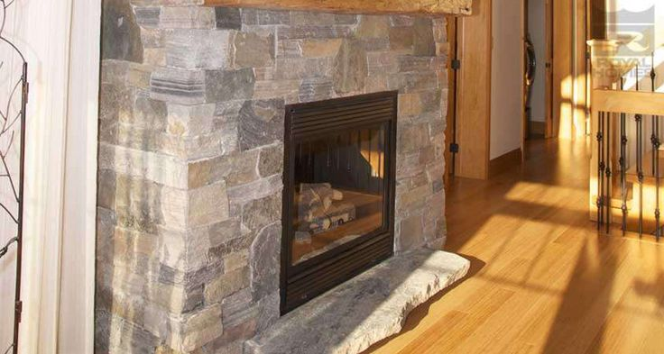 Lakeview fireplace