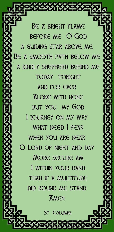 A prayer of Saint Columba
