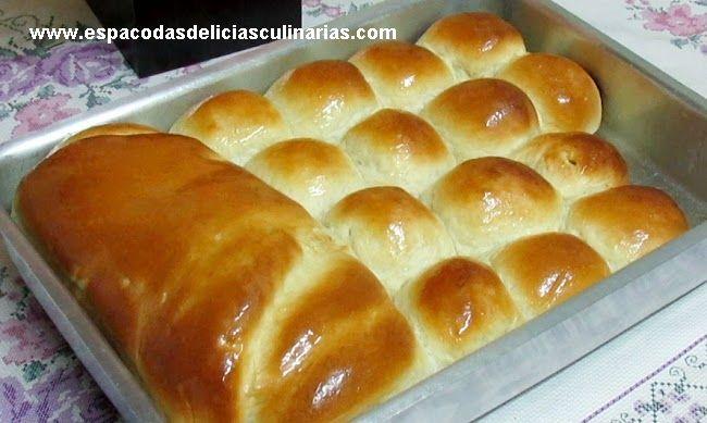 Pão caseiro fofinho, muitooo fofinho - Espaço das delícias culinárias