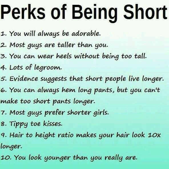 Short girl jokes