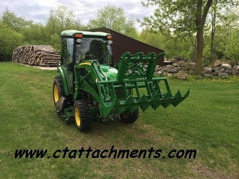 Compact Tractor Attachments Extreme Series Grapple