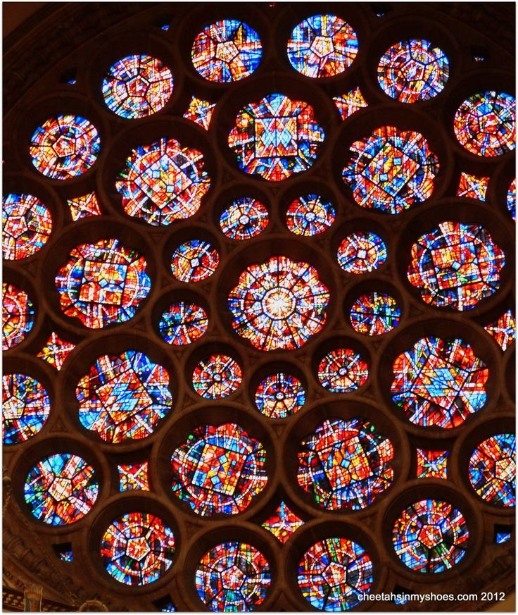 Rose Window St Albans Cathedral