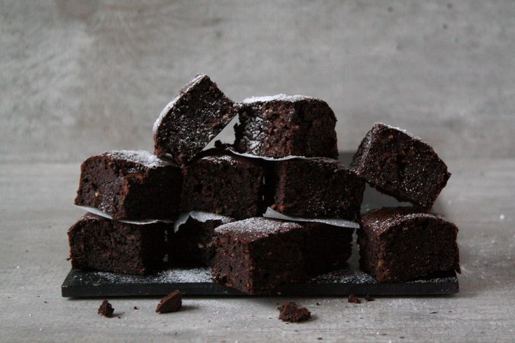 Courgette brownies!