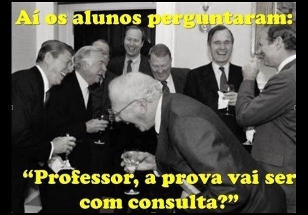 Eles também se divertem: Professores publicam memes sobre a carreira na internet - Fotos - UOL Educação