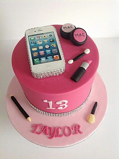 Ina Tweedie: Smart phone and MAC makeup. Thats what this 13 year old wants! Birthday cake. Celebration cake.