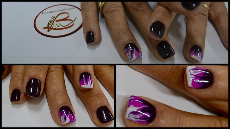 beauty in nail #nail art soak off #nailart #smalti #semipermanenti #beautyinnails