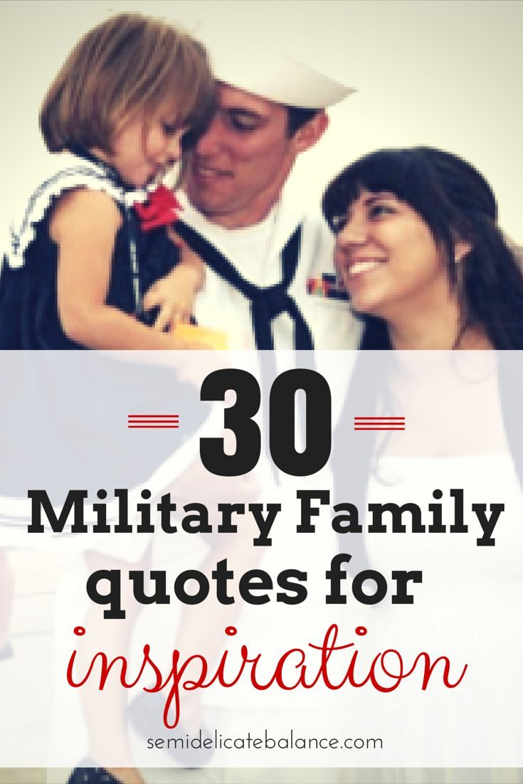 When times get rough, sometimes a military family needs some inspirational quotes for encouragement. Here are some memorable quotes for military families.
