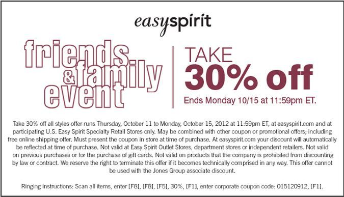Easy Spirit is a popular shoe retailer which operates the website cheapwomensclothes.tk As of today, we have 6 active Easy Spirit promo codes, 3 single-use codes, 5 sales and 26 third-party deals.5/5(4).