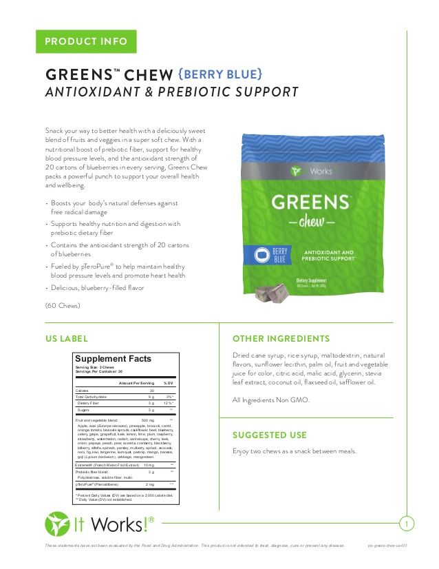 Green chews are the best thing I could have added to my daily intake, since I have HIGH BLOOD PRESSURE!!1 Contact me @ 832-533-6474