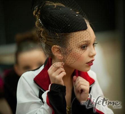 Dance Moms Season 2 Photos- Maddie fixing hair piece
