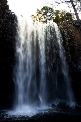 Trentham Falls, Trentham, Vic, AU