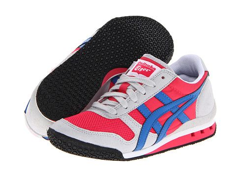 Onitsuka Tiger Kids by Asics Ultimate 81 PS (Toddler/Little Kid) Raspberry/Electric Blue - Zappos.com Free Shipping BOTH Ways