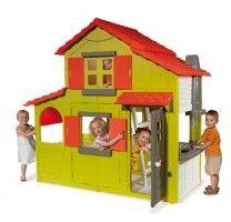 casa duplex de exterior para nios de smoby en el pas e los juguetes