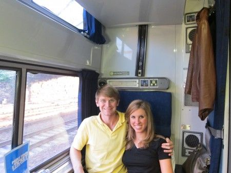 See what riding our Silver Service is really like in a train roomette!