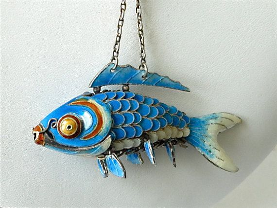 17 best images about chinese export on pinterest cherry for Silver koi fish