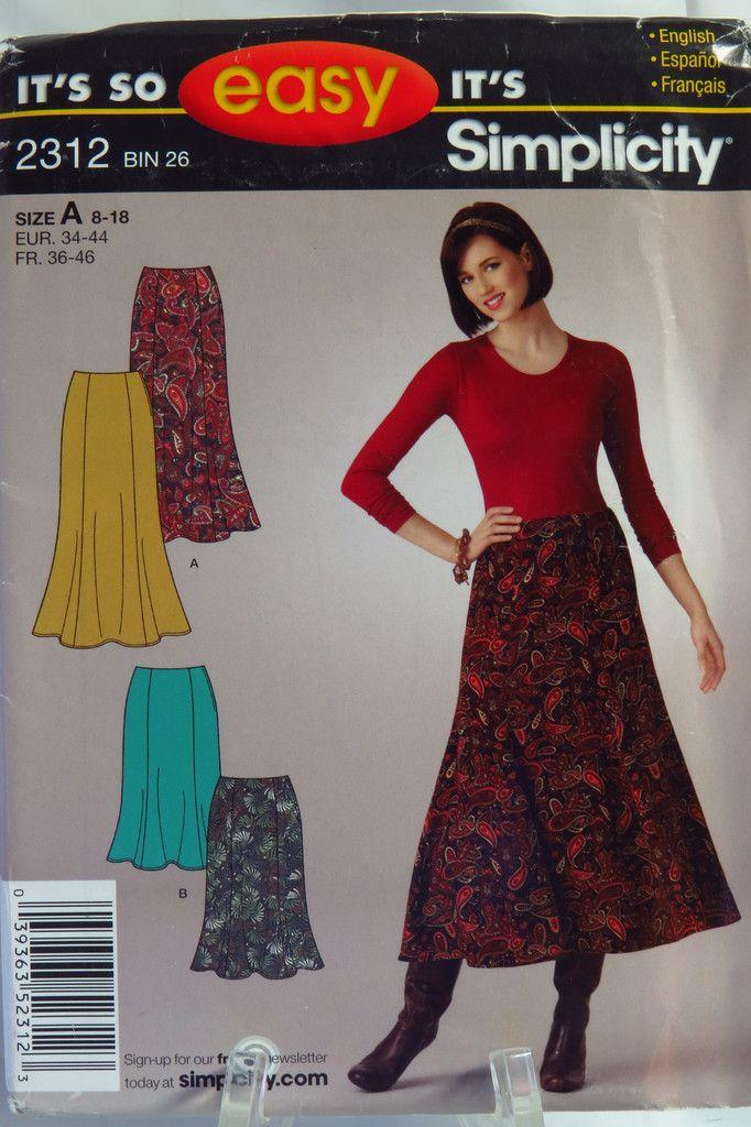 120 besten It\'s So Easy Sewing Patterns by Simplicity Bilder auf ...