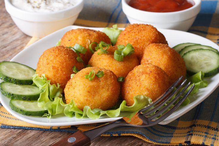 Krumplis sajtgolyók tepsiben sütve - Az egyik legjobb köret, amit eddig kóstoltál