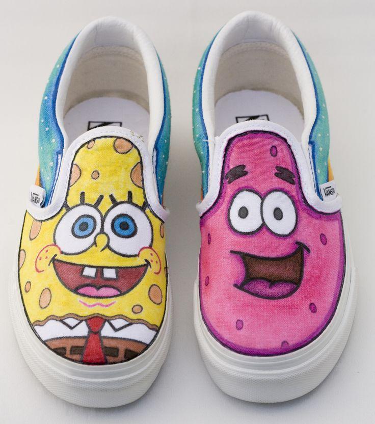 e1211df35d3e58 ... vans custom spongebob Shoes Pinterest Vans and Girls .