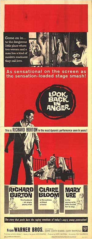 February 2013: 'angry young men at the kitchen sink' Look Back in Anger by John Osborne