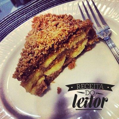TORTA INTEGRAL DE BANANA COM ESPECIARIAS   Receita da chef Mari Rezende, do Blog Sala de Estar (Instagram @blogsaladeestar)