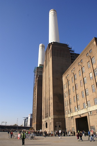 Battersea Power Station, London. Giles Gilbert Scott architect