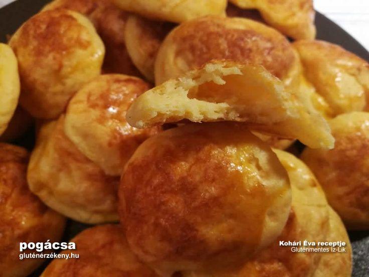 Olcsó, gyors sajtos gluténmentes pogácsa recept | Gluténmentes Íz-Lik