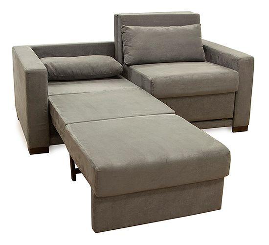 Sofa cama casal sofia sued etna pinterest sof s e ps - Sofa camif ...