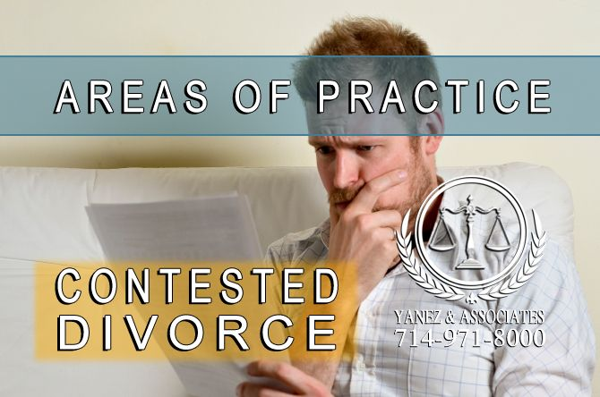What is a Contested Divorce in Orange County, California? When a divorce is considered to be contested by the court, it means that the respondent, the person who was served with divorce papers, disagrees with the petitioner, who filed the initial divorce papers, about their proposed divorce agreement, AND that they filed papers with the court stating that they disagree with this proposal. Couples in contested divorces do not have a signed divorce agreement.