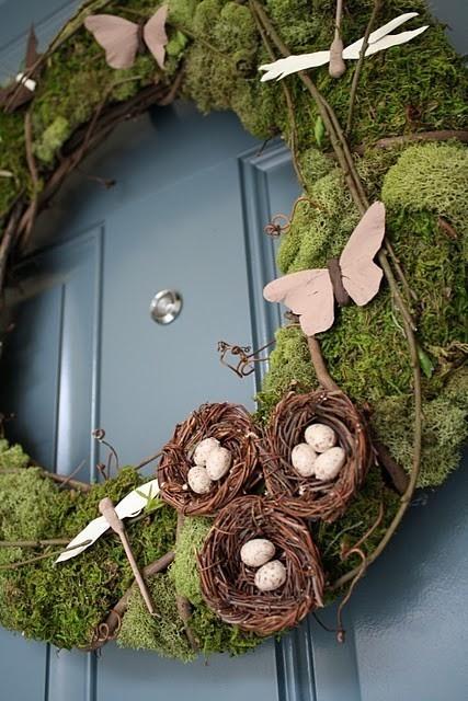 Springtime door ring