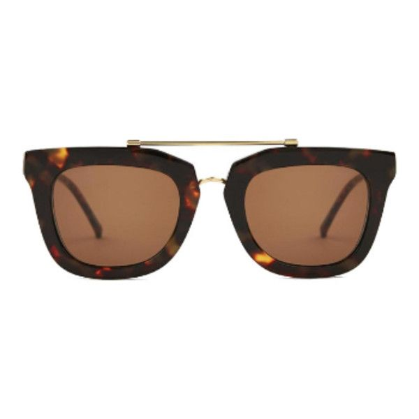 Chips Salsa Remix Camo Brown Sunglasses (215 530 LBP) ❤ liked on Polyvore featuring accessories, eyewear, sunglasses, glasses, tortoise sunglasses, camo sunglasses, camouflage glasses, brown glasses and brown tortoise shell glasses