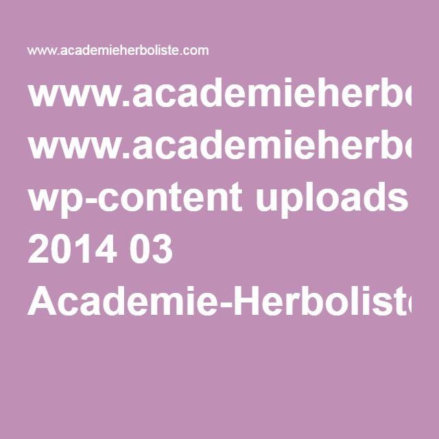 www.academieherboliste.com wp-content uploads 2014 03 Academie-Herboliste-Info-Verte-Juin2015.pdf
