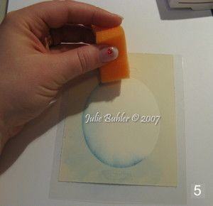 How to sponge around your oval (or any shape) tutorial.   Jrb_mask_tut5_1